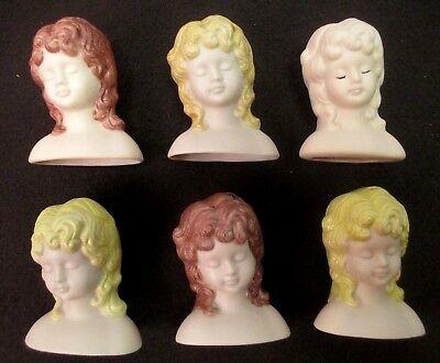 "Porcelain Doll Making Head Hands Girl Baby For Art Sculpture Figures 3//4/"" Craft"