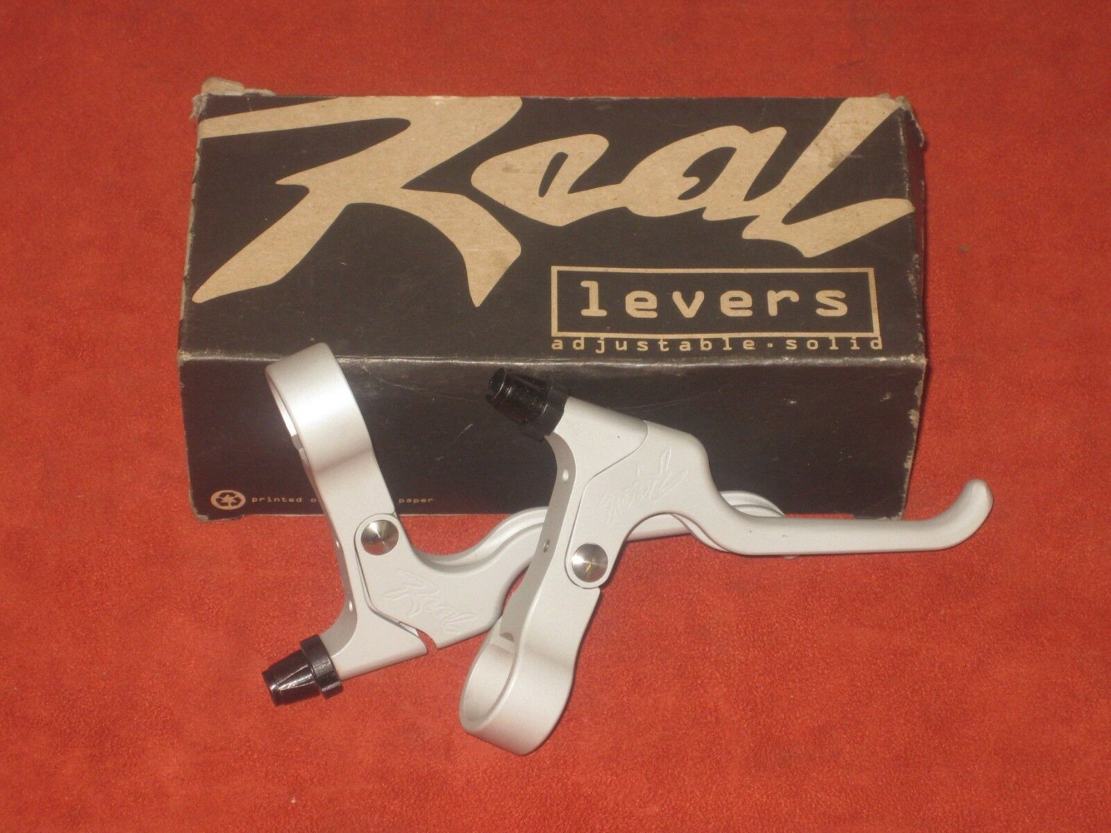NEW Real Brake Levers RBL-900 Adjustable Retro NOS