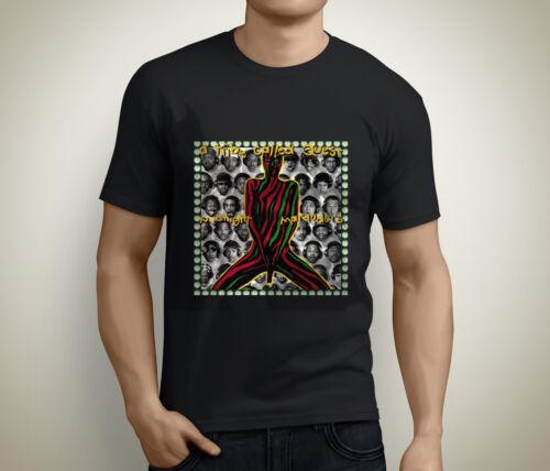 A TRIBE CALLED QUEST Rap Hip Hop Album Logo Men/'s Black T-Shirt Size S to 5XL