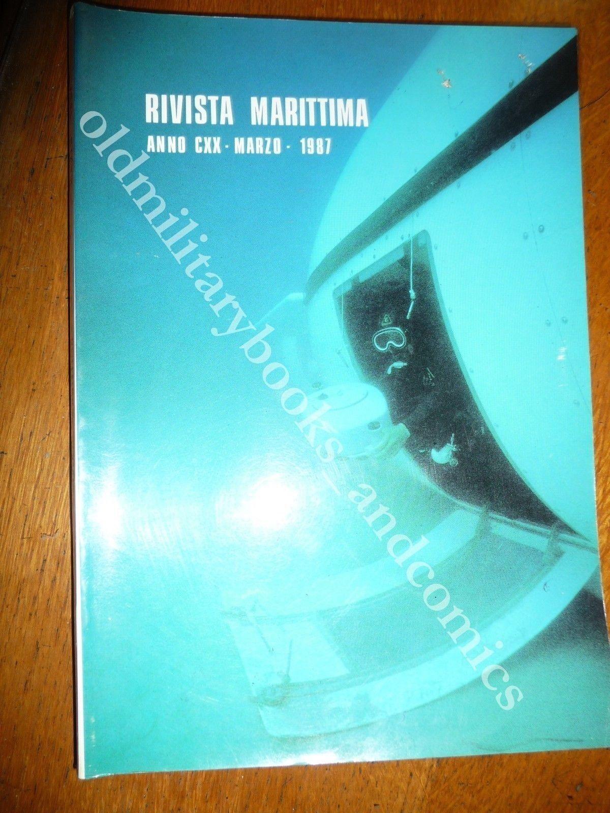 RIVISTA MARITTIMA 1987 n 3 VASCELLI NAPOLETANI AMSTERDAM PORTO M. MERCANTILI