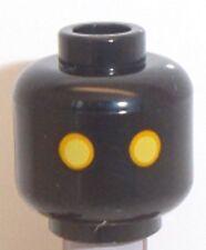 Lego Jawa Head x 1 Black Star Wars Alien Head for Minifigure
