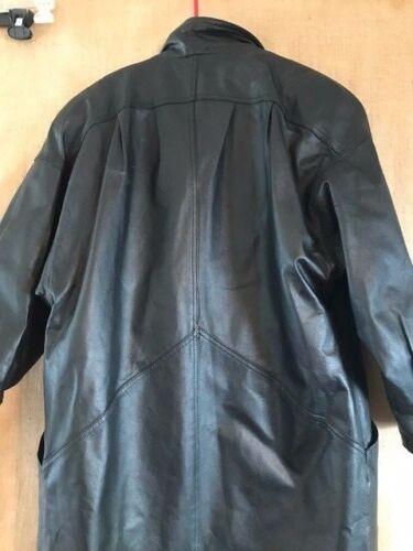 Women Wilsons Long Dress Petite Black Size Pm Coat Leather Model Ffxrwqf15