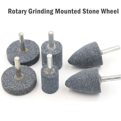Mounted Grinding Stone Wheel Disc For Dremel Grinder Rotary Tools 20//25//30//40mm