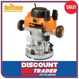 Triton 1400W 230V 240V Dual Mode Precision Plunge Router - MOF001