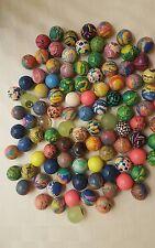 25 Assorted Rubber BOUNCING BALLS - Bouncy Balls- New