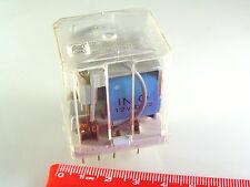 IMO 60.32 relè 12VDC Bobina Doppio Polo Commutazione 250V 10A OM336