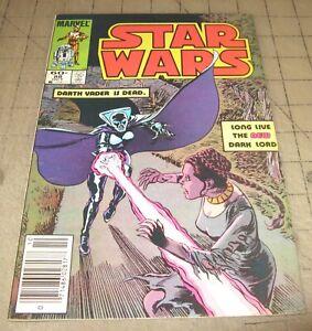 STAR WARS #88 (Oct 1984) VF- Condition Comic - News Stand - 1st Lumiya Vader App