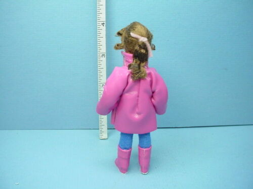 """Miniature Young Girl /""""Louisa/"""" #10301 Dollhouse Doll,Handcrafted Erna Meyer"""