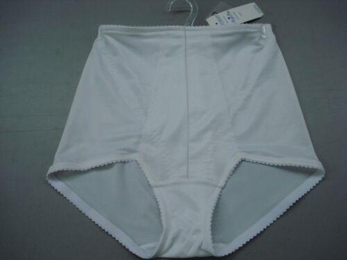 NWT Women/'s QT Intimates Girdle Shaping Panty Size Large White #500N