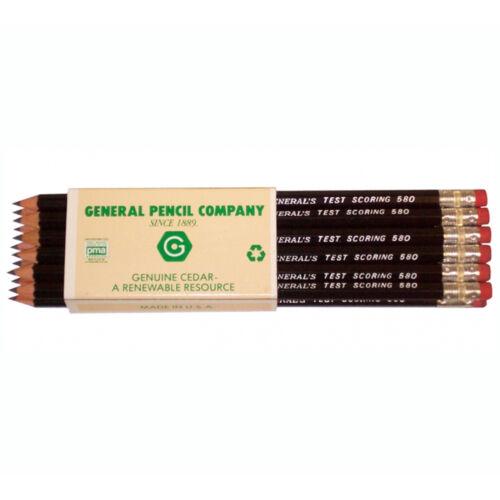 General Test Scoring Pencil Box//12