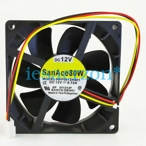 for-Sanyo-9WP0812H401-IP68-waterproof-fan-8025-80mmDC-12V-case-axial-cooling-fan