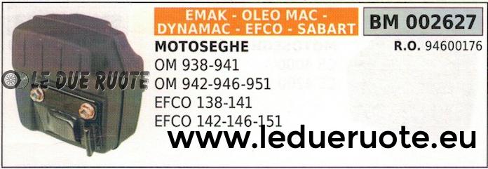 il miglior servizio post-vendita 94600176 MARMITTA SCARICO SILENZIATORE MOTOSEGA OLEOMAC 938 938 938 941 942 946 951  scegli il tuo preferito