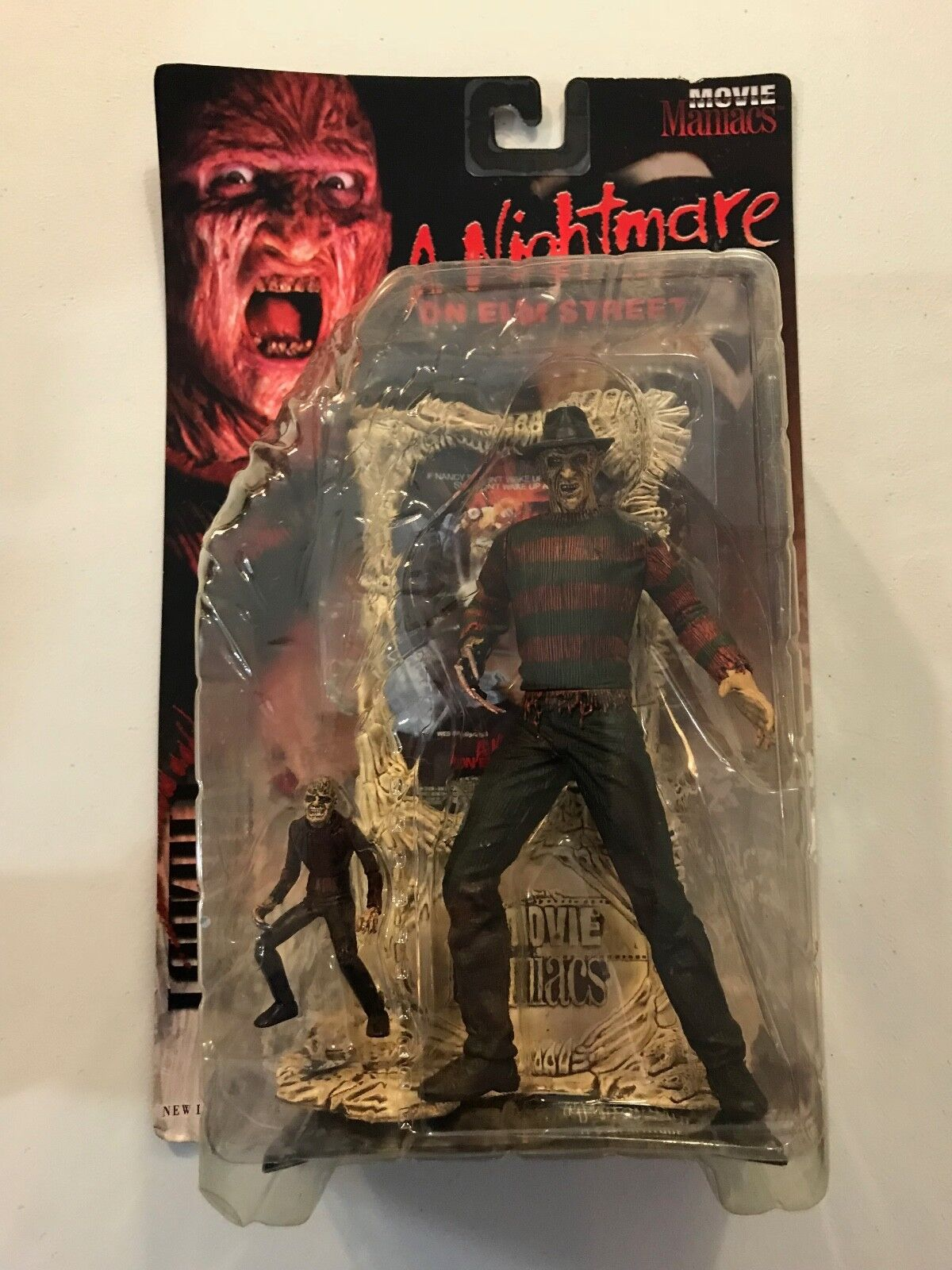 McFarlane Toys Movie Maniacs 1 FROTdy A Nightmare Elm Street figure 1998 New
