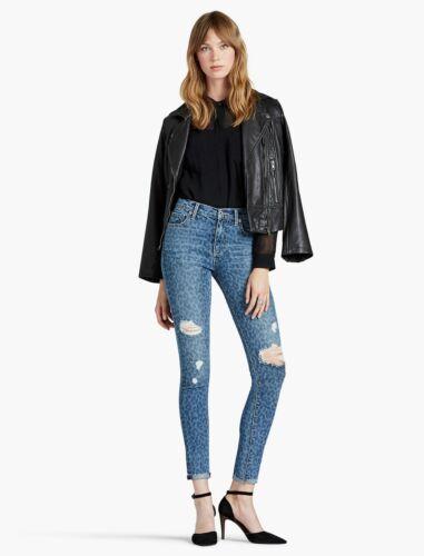 Print Størrelser Leopard Skinny Womens Ripped Ny 32 Bukser 29 Jean Denim Brand Lucky xzRYqw0T