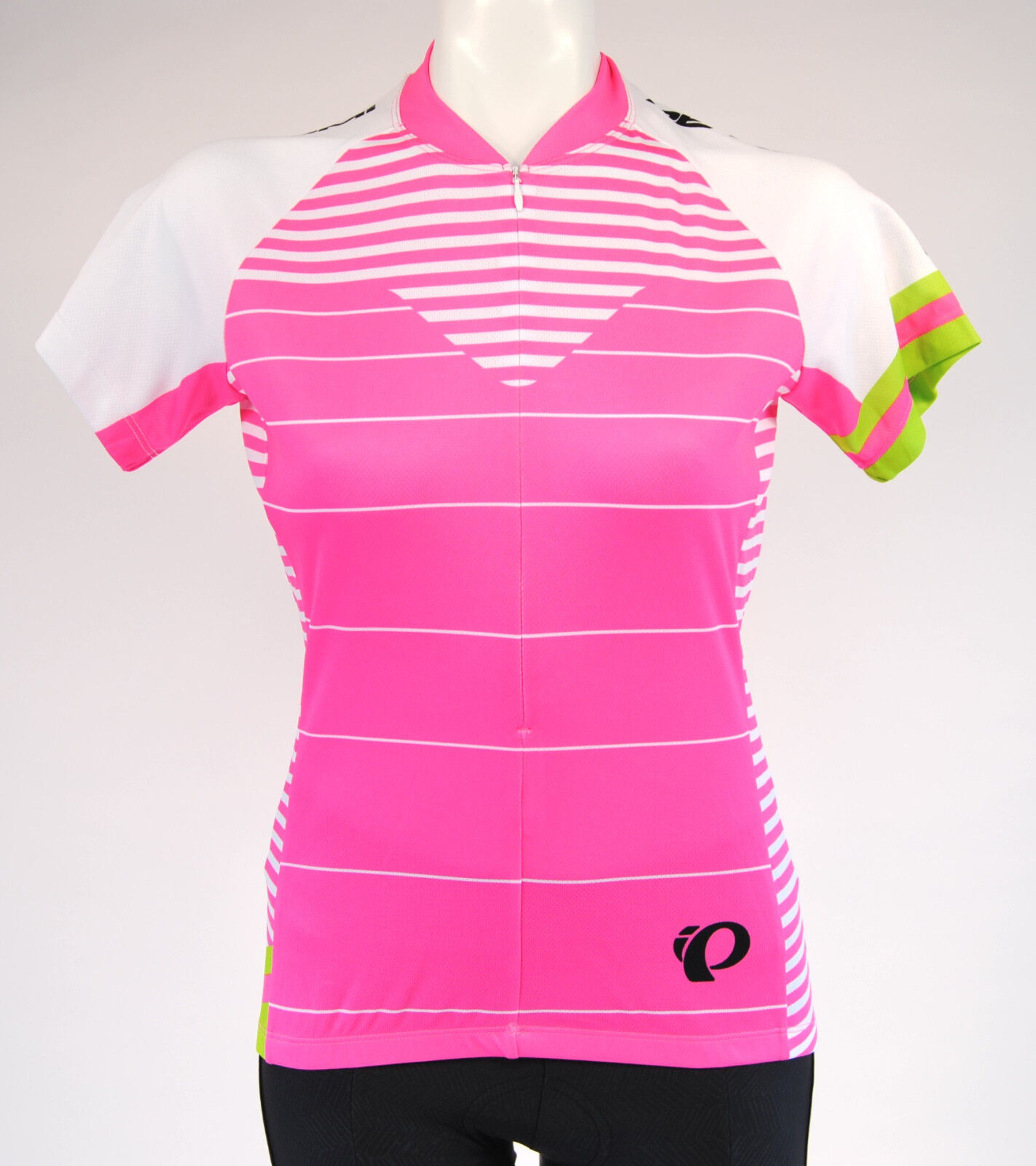 Pearl Izumi W Select LTD SS Cycling Jersey,Women's, Extra Small, Pink White