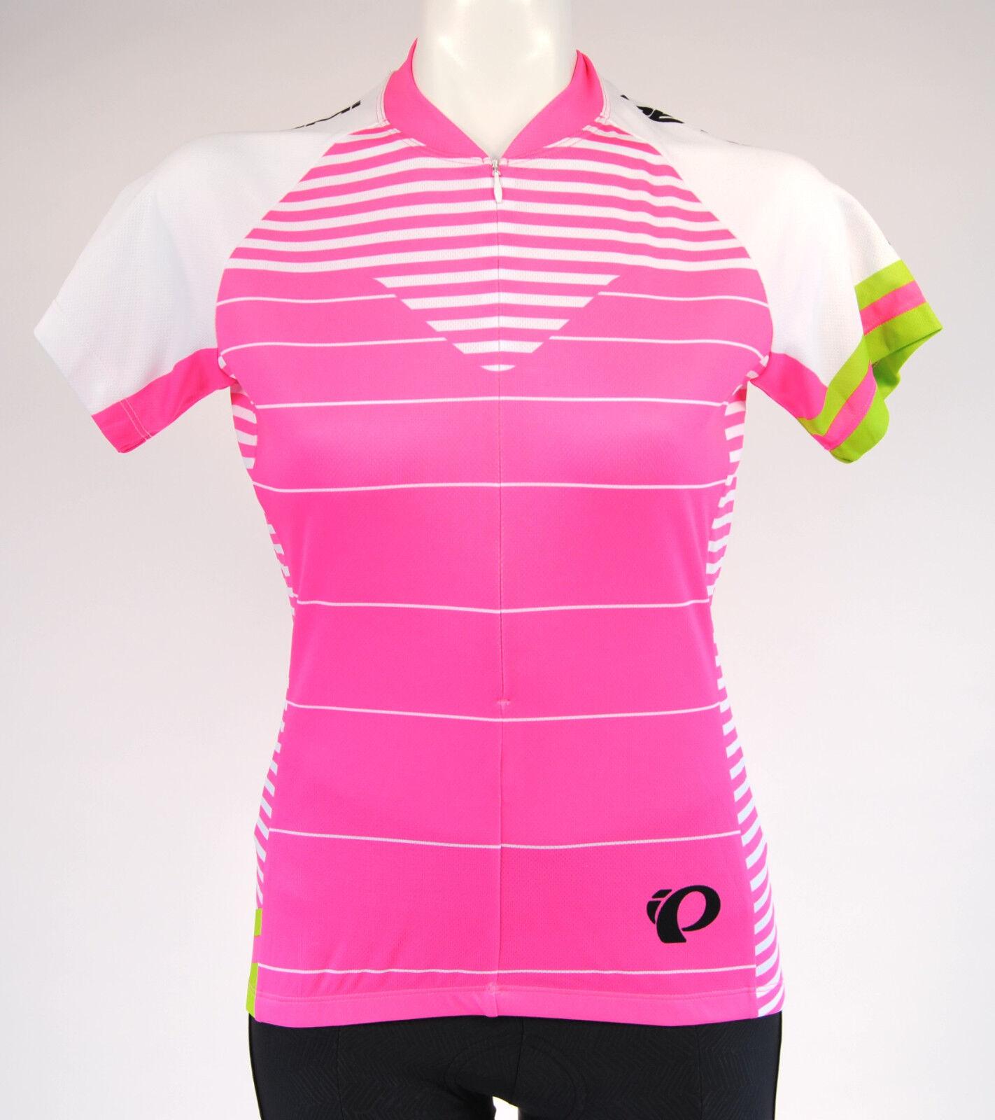 Pearl Izumi W Select LTD SS Cycling Jersey,Women's, Extra Small, Pink White