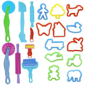 20pcs-Children-Creative-Play-Dough-Clay-Craft-Modelling-Tool-Set
