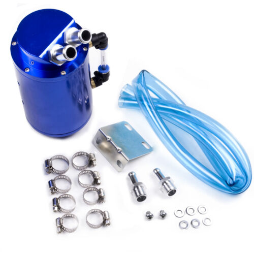 PEUGEOT106 206 307CC ALLOY ROUND BLUE 10MM 15MM RACE RALLY OIL CATCH TANK CAN