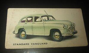1949 STANDARD VANGUARD  Orig Kelloggs Colour  Swap Card