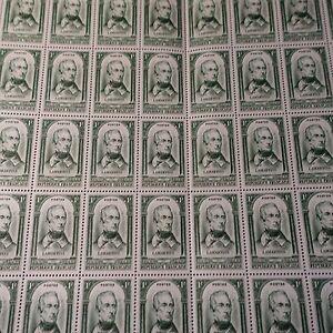FEUILLE SHEET RÉVOLUTION DE PRAT DE LAMARTINE N°795 x50 1948 NEUF ** LUXE MNH