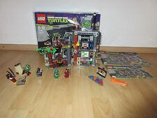 Lego Teenage Mutant Ninja Turtles 79103 Turtles Hauptquartier komplett