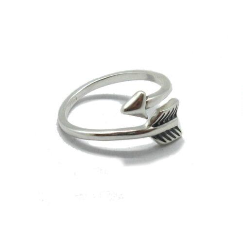 Genuine Sterling Silver Ring Solid Hallmarked 925 ARROW R001814 EMPRESS