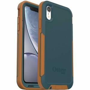 OtterBox-Pursuit-Series-Case-for-iPhone-Xr-Autumn-Lake-Blue-Light-Brown