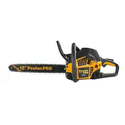 Poulan Pro 18 Inch 42CC 2 Cycle Gas Chainsaw, Certified Refurbished | PP4218A
