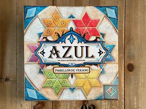juego de mesa - AZUL PABELLON DE VERANO - Next Move - Asmodee Ed. español