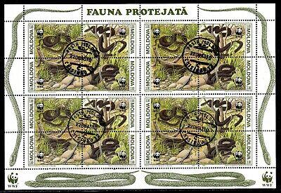 Moldawien 50/55 O Kb Schlangen (2986) Buy One Give One