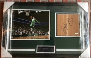 547b71c829f Image is loading Jaylen-Brown-autographed-signed-floorboard-framed-NBA- Boston-
