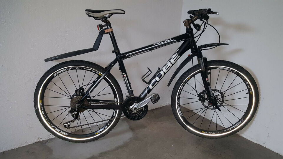 Giant, anden mountainbike, tommer 27