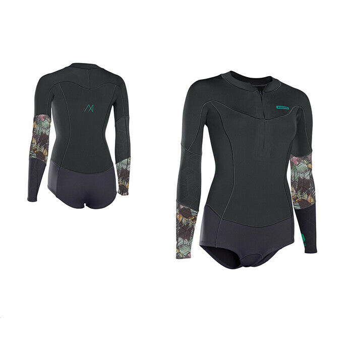 ION Wetsuit BS Muse Hot Shorty LS 2 NZ DL. Quality 2mm neoprene. Short legs