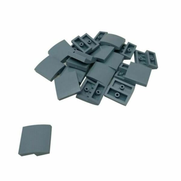 10x LEGO®  Bogenabschluss 2x2x2//3 15068 NEU weiss Slope curved