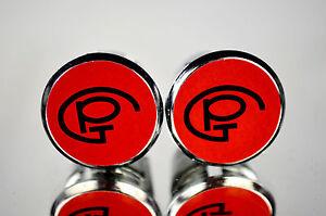 new Pinarello GP red Handlebar End Plugs plug Bar Caps vintage bouchons calotte