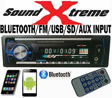 SoundXtreme In Dash Car Player USB/SD MP3 Stereo Audio Receiver Bluetooth Aux