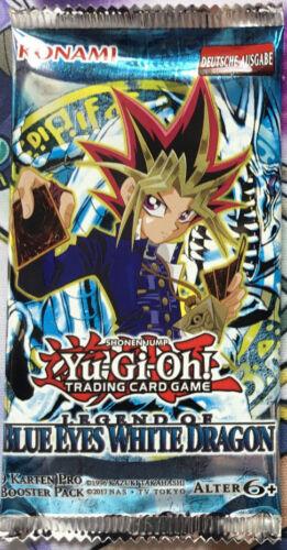 1x Legend of Blue Eyes White Dragon Yu-Gi-Oh LOB Booster OVP Card Game DEUTSCH