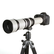 Telescope 650-1300mm f/8-16 Ultra Telephoto Zoom Lens for Canon EOS DSLR Camera