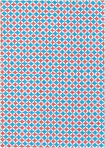 Blusenstoff-Retro-Patti-Voile-by-Cherry-Picking-blau-rot-Meterware-Kinderstoff
