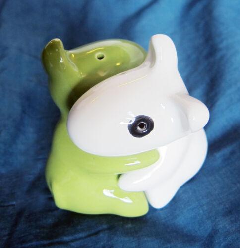 Perro//Cerditos Original Sal y Pimienta Sets Agitadores Frascos Porcelana