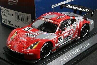 EBBRO 1:43 Motul Pitwork Nissan Nismo Fairlady 350Z Late Type JGTC 2004 Die Cast