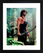 Sylvester Stallone Rambo Framed Photo CP0677