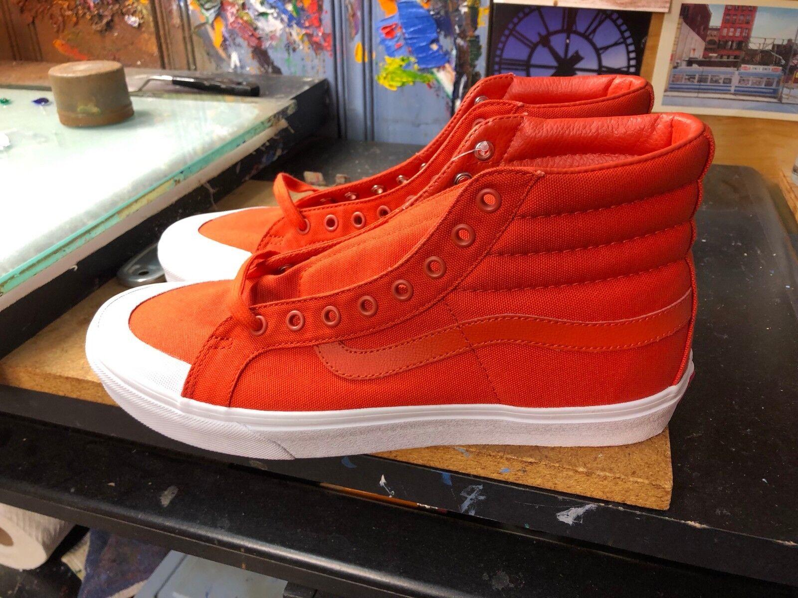 Vans SK8-Hi Reissue (Canvas) Pureed Pumpkin  Size US 11.5 Men's VN0A3TKPU7W