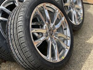 4X-NEW-GENUINE-HOLDEN-VF-REDLINE-19-034-POLISHED-ALLOYS-amp-KUMHO-KU31-TYRES-VE-VZ