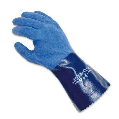 Atlas Showa 720 Chemical Resistant Nitrile Work Gloves ANY SIZE FREE SHIP!