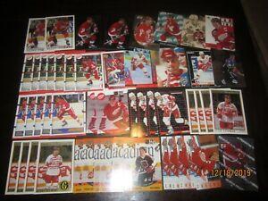 Huge Lot of (50) Steve Yzerman Hockey Cards Red Wings