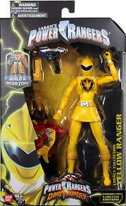 Power Rangers Dino Thunder ~ Figurine d'action Héritage des Rangers jaunes Mmpr Morphin 45557437947