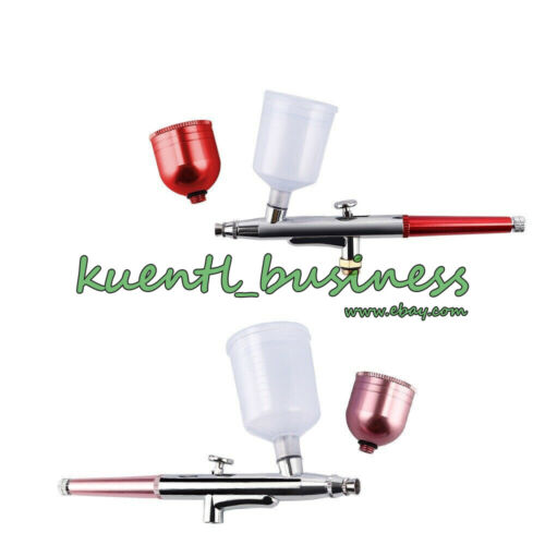 Portable Airbrush Compressor Kit Spray Gun Tattoo Paint Craft Cake Air Brush Set