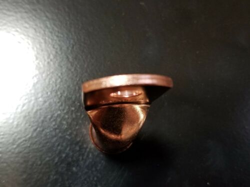 5 1//0 gauge Ring 1//4 Hole Terminal BATTERY Lug Bare Copper Un-insulated AWG