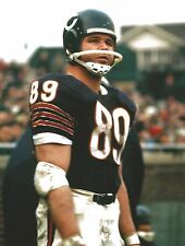 MIKE DITKA 8X10 PHOTO CHICAGO BEARS PICTURE NFL FOOTBALL SIDE LINE CLOSE UP
